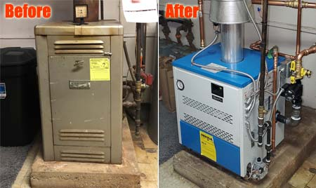 Boiler Replacement Installation Minneapolis St Paul